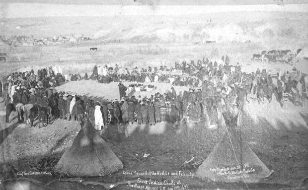 محل تجمع سرخپوستان و ارتش آمریکا در وونددنی