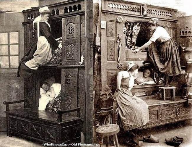 اتاق خواب پیش خدمت های انگلیس