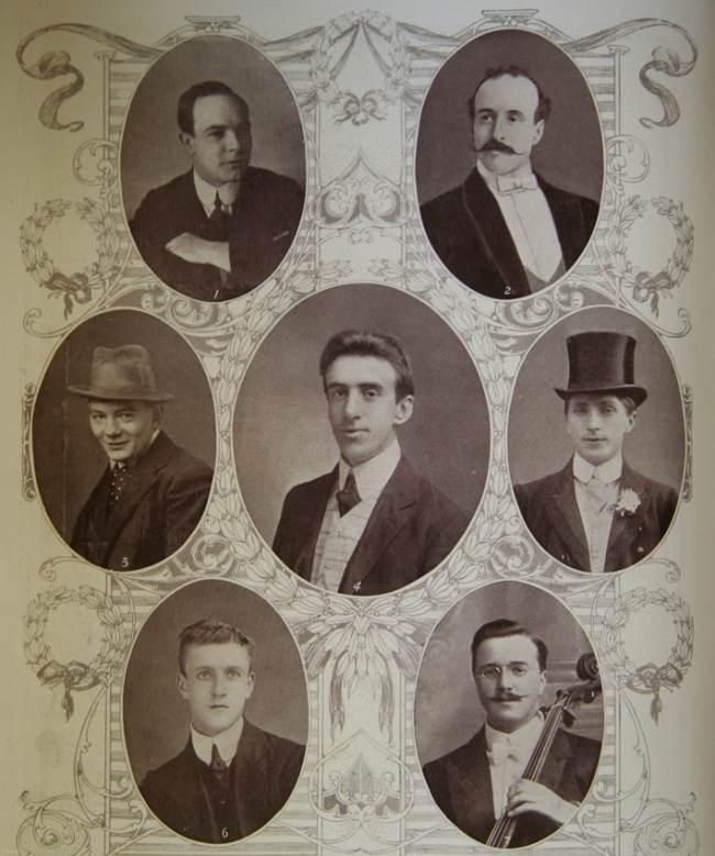 نوازندگان کشتی تایتانیک