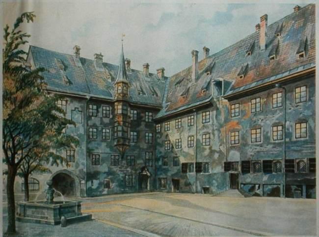 نقاشی آدولف هیتلر_2