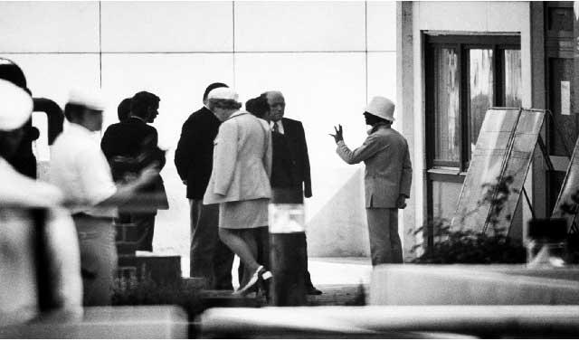 نماینده سپتامبر سیاه در حال مذاکره به مقامات آلمان